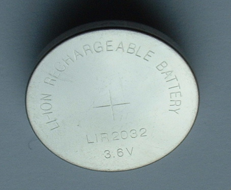 Rechargeable Lithium Coin Cell