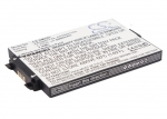 Battery for Pioneer Inno XM2go, Airware XM2GO, Airware, GexAirware1
