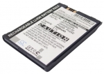 Battery for Vodafone VDA, v1620, VPA III Extended with Back Cover