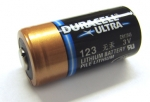 Duracell DL123A 3 Volt Photo Lithium Battery replaces CR17345 fits any CR123A