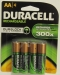 Duracell NiMH AA Rechargeable With 2450mAh