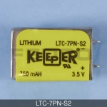 LTC-7PN-S2 Lithium Keeper Battery 3.5v 750mAh